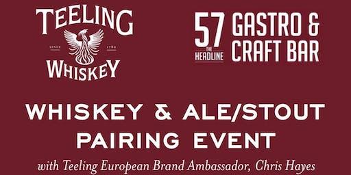 Teeling Whiskey & Ale / Stout Pairing