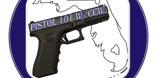 Pistol 101 w/Concealed Carry License