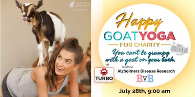 Happy Goat Yoga-For Charity w/ BvB Benefiting Alzheimer Disease Research