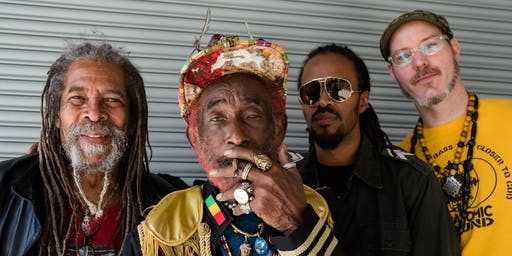 "LEE ""SCRATCH"" PERRY + SUBATOMIC SOUND SYSTEM with Rey Azucar"