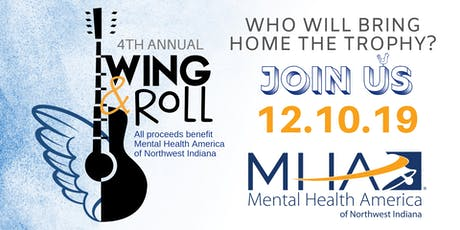 Wing & Roll 4th Annual Fundraising Event - Mental Health America of NWI tickets