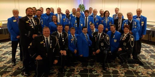 Order of The Royal Guard Blue Coat Dinner