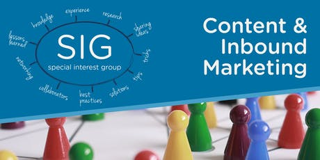 Content SIG: How to Make Your Content go Further with Marketing Automation tickets