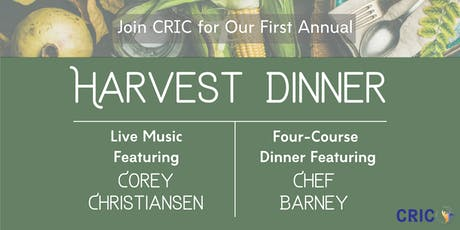 CRIC Harvest Dinner tickets