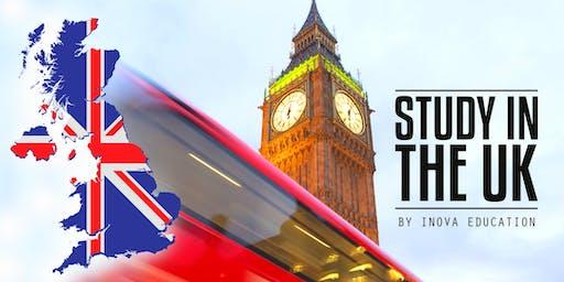Estudia en el Reino Unido - sesión informativa, también en línea