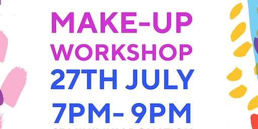 Drag make-up class!