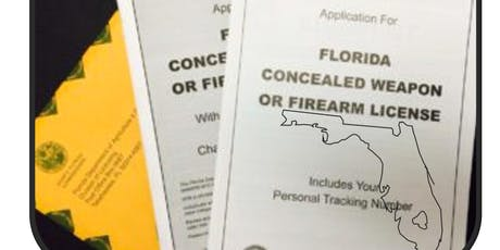 Florida Concealed Weapons Class tickets