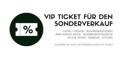 VIP Ticket zum Sonderverkauf im Pop up Store Düsseldorf