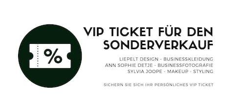 VIP Ticket zum Sonderverkauf im Pop up Store Düsseldorf Tickets