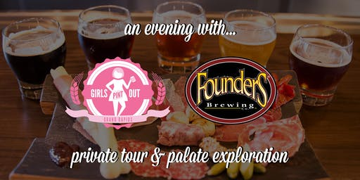 SOLD OUT Girls Pint Out at Founders Brewing Co.