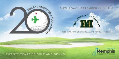 MSCAA 20th Annual Charity Golf Tournament tickets
