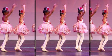 2-3 yrs FREE Tutu with Purchase of 4 dance classes for $25.00 tickets