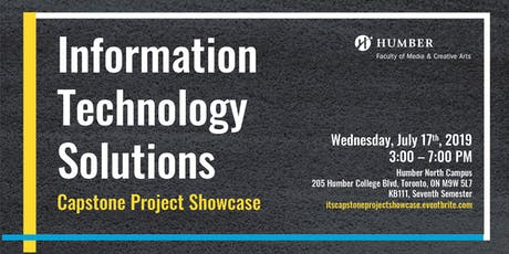 Information Technology Solutions Capstone Project Showcase  tickets