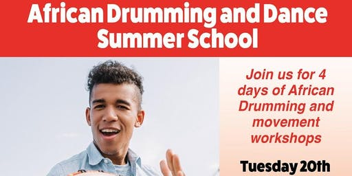 Creative Ideas: African Drumming and Dance Workshops