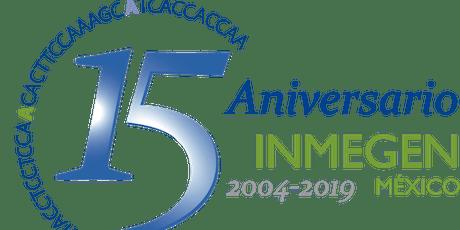 15 Aniversario INMEGEN entradas