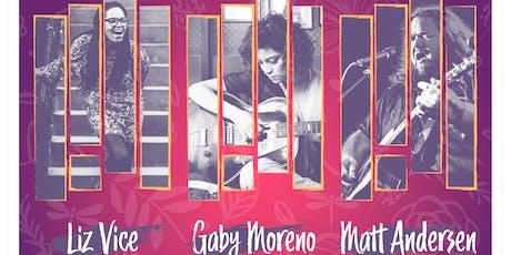 Roots Rising! featuring Matt Andersen, Gaby Moreno & Liz Vice tickets