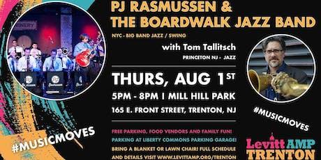 LevittAMPTrenton Music Series:PJRasmussen&BoardwalkJazzBand w/Tom Tallitsch tickets