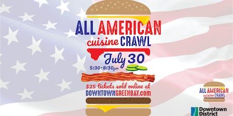 All American Cuisine Crawl tickets