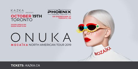 ONUKA - North American Tour 2019 (Toronto) tickets