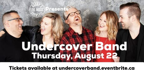 Undercover Band - Gabby's Live Music Showcase  tickets