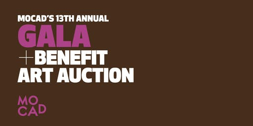MOCAD's (Lucky) 13th Annual Gala + Benefit Art Auction