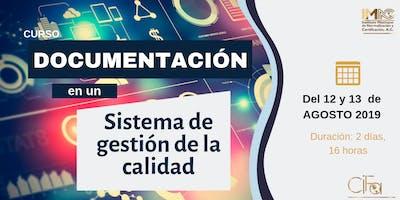DOCUMENTACIÓN EN UN SISTEMA DE CALIDAD