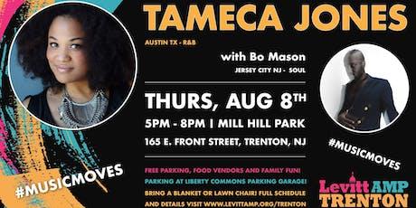 Levitt AMP Trenton Music Series: Tameca Jones w/ Bo Mason tickets