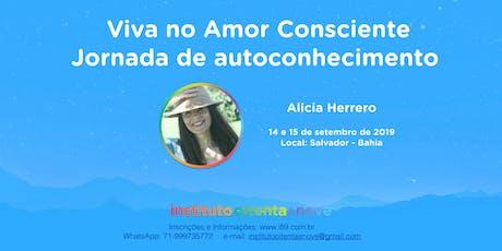 Viva o Amor Consciente - Uma Jornada de Autoconhecimento  ingressos