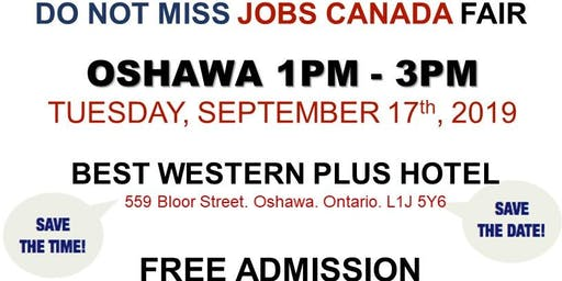 Oshawa Job Fair - September 17th, 2019