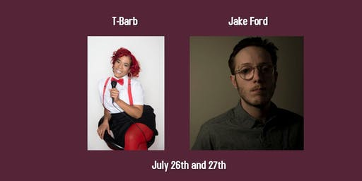 Haddon's Comedy Club Presents: T-Barb and Jake Ford