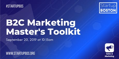 B2C Marketing Master's Toolkit  tickets