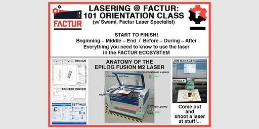 Laser Cool Things - Laser Orientation with Swami