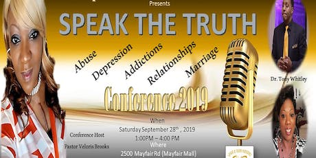 """Speak The Truth"" Conference tickets"