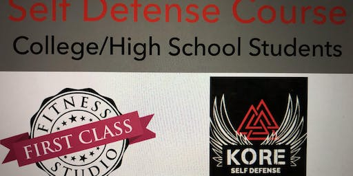 Self Defense Course - College/High School Students
