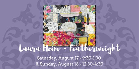 Laura Heine Exclusive Raw Edge Applique Quilt - August 17 & 18, 2019 tickets