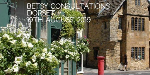 Beautiful Betsy Consultations * Dorset * 19th August 2019