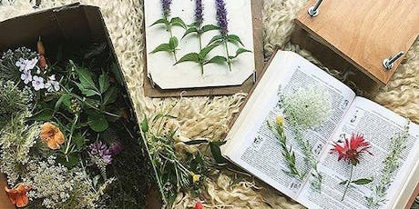 Creating and Herbal Compendium and Flower Press Workshop tickets