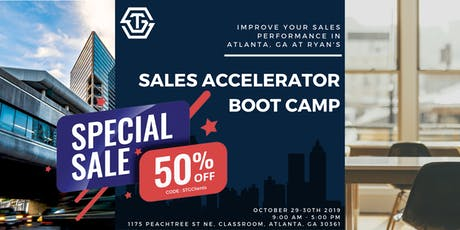 October '19 // Atlanta Sales Accelerator Bootcamp with Ryan Groth (2 day) tickets