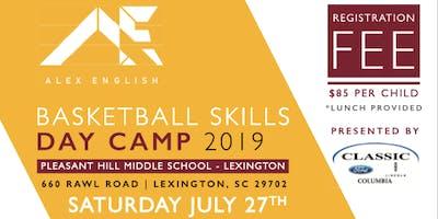 Alex English Basketball Skills Camp Presented Classic Ford- Lexington Day Camp