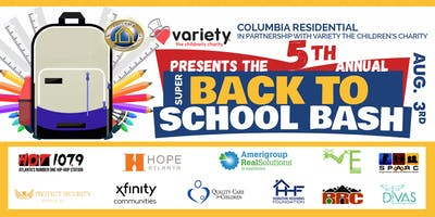 Back to School Bash - Columbia Residential (5th Annual Event)