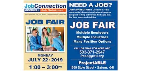 Job Fair - Salem - 7/22/19 tickets