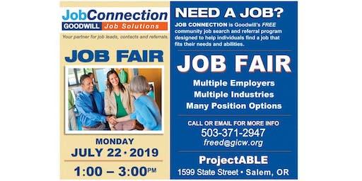 Job Fair - Salem - 7/22/19