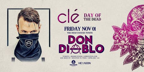 Don Diablo / Friday November 1st / Clé tickets