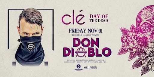 Don Diablo / Friday November 1st / Clé