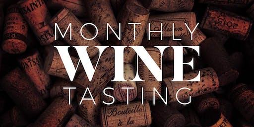 Monthly Wine Tasting & LORE Open Mic Night
