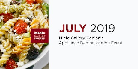 COOL PASTA FOR HOT SUMMER NIGHTS: LIVE COOKING DEMO tickets