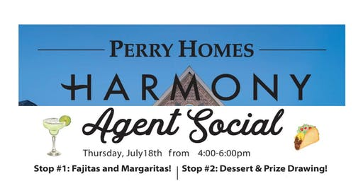 Perry Homes Agent Margarita Social