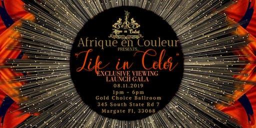 """Afrique en Couleur presents """"Life in Color"""""""