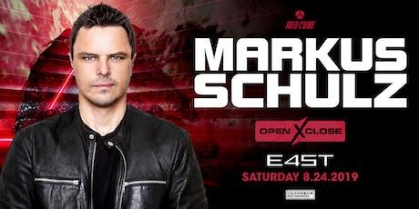OPENXCLOSE: MARKUS SCHULZ tickets