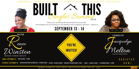 Built for This Singles Summit 2019 tickets
